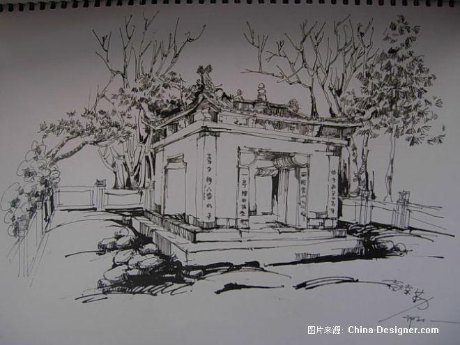 《庐山手绘2》-设计师:彭业勤