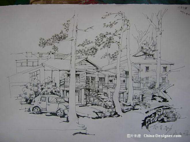 8-彭业勤的设计师家园-庐山手绘