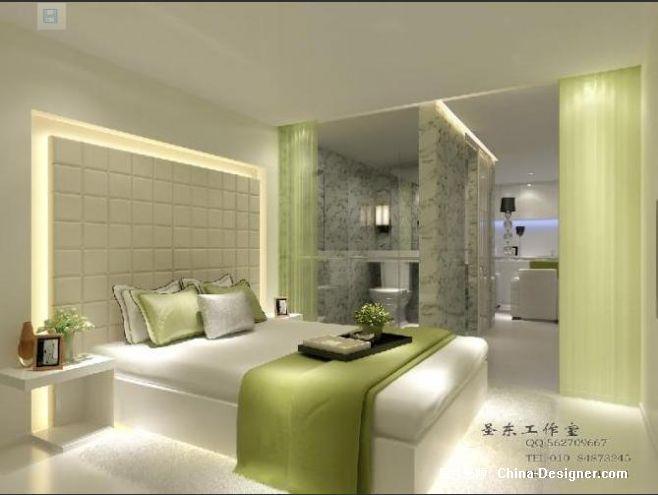《样板卧室》-设计师:圣东视觉艺术表现工作室