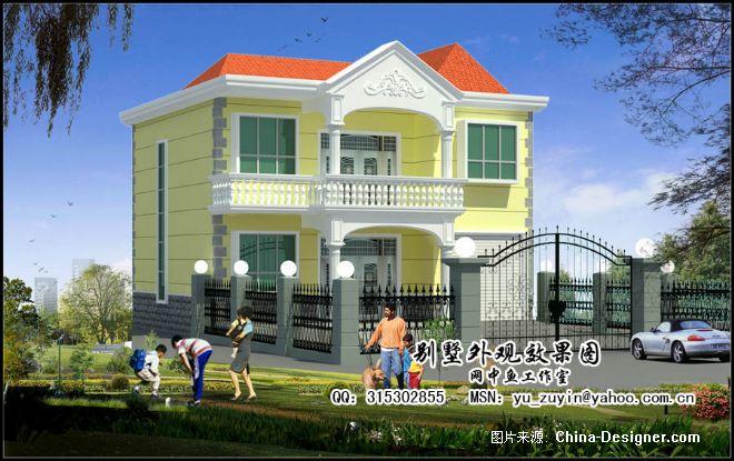 经济型农村小别墅3-余祖银的设计师家园-10-20万,别墅,客厅,橙色,田园