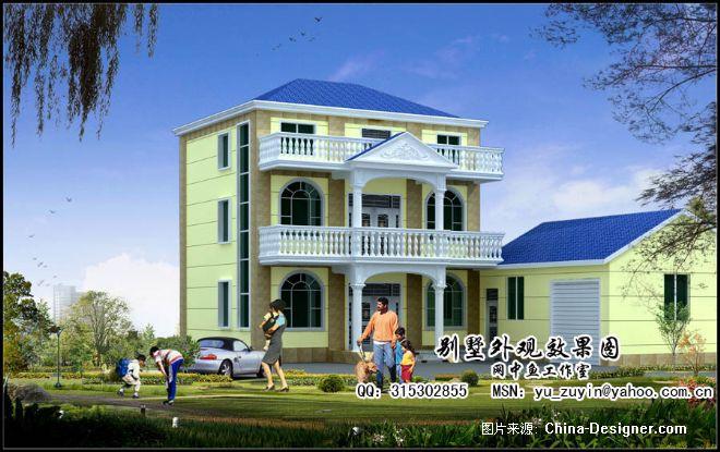 经济型新农村小别墅2-余祖银的设计师家园-20-30万,别墅,餐厅,黄色,现