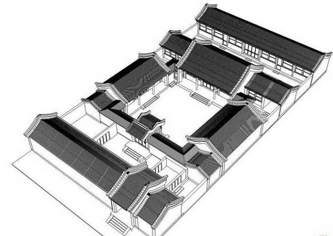四合院房顶-陆锦平的设计师家园-中式