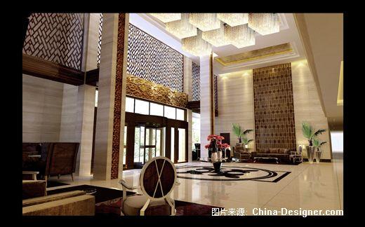 计师家园-中式云纹木格
