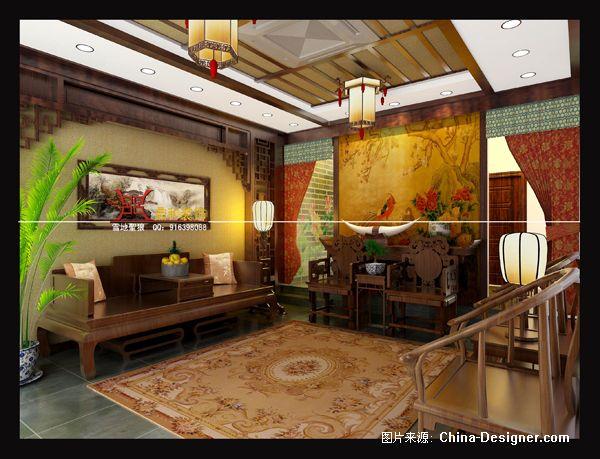 宜兴中堂别墅客厅-张宽玉的设计师家园-客厅