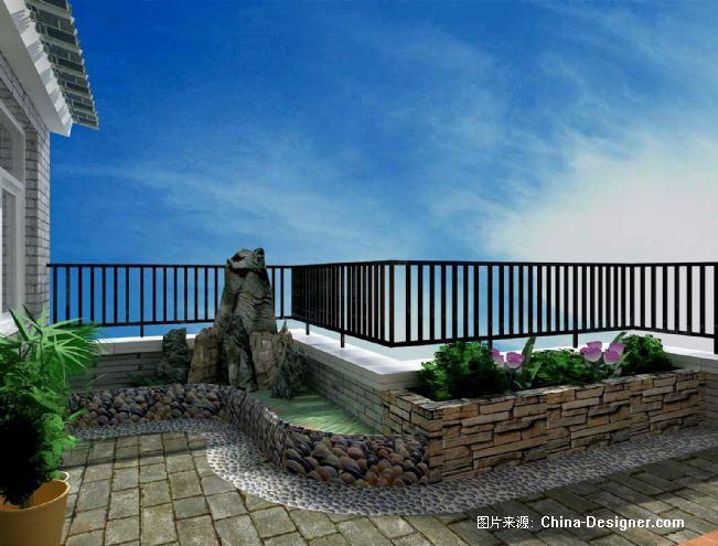 屋顶花园-李宏炜的设计师家园-中式图片
