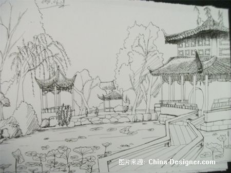 苏州拙政园-林道丽的设计师家园-白色