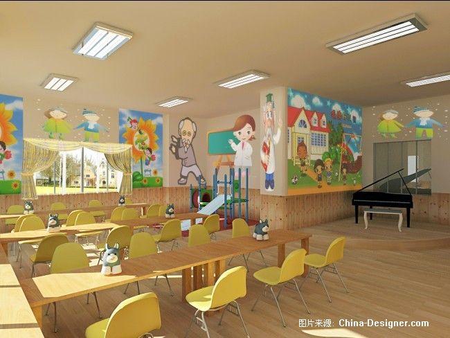 幼儿园-南昌思瑞装饰的设计师家园-温馨