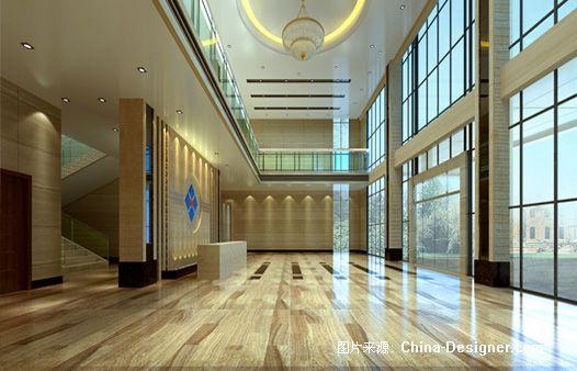 大堂-向文松的设计师家园-办公室图片