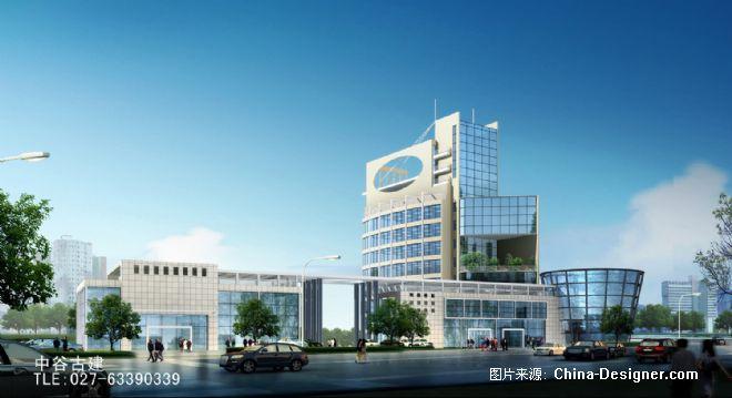 《银行办公楼》-设计师:武汉方澳建筑设计咨询有限