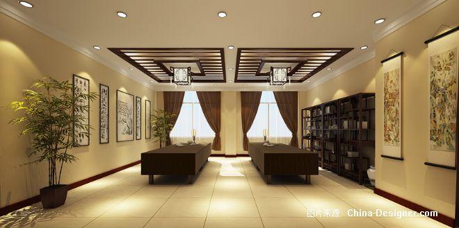 画室(1)-张元鹏的设计师家园-办公室,黄色,中式图片