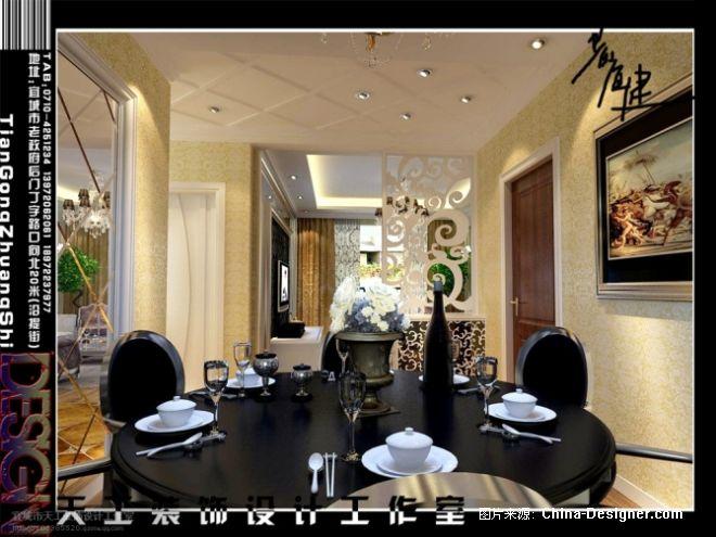 欧式客厅-2-宜城市天工装饰设计工作室的设计师家园