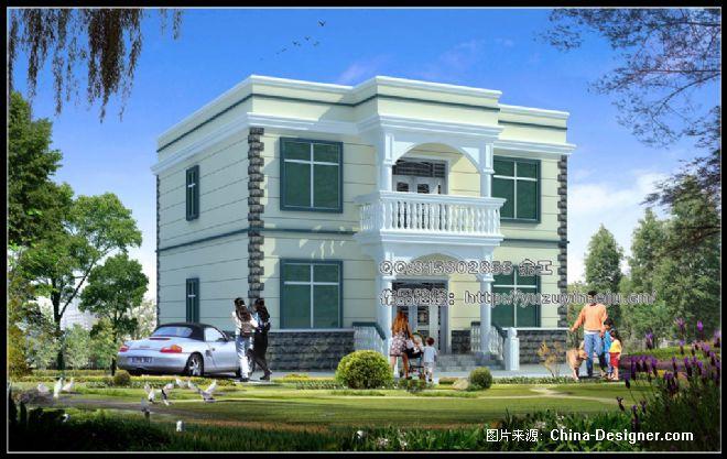 农村二层楼适用型-余祖银的设计师家园-10-20万,别墅,样板间,绿色,新