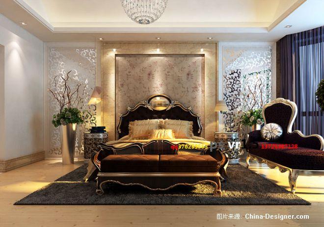 简欧主人房2-11的设计师家园-欧式