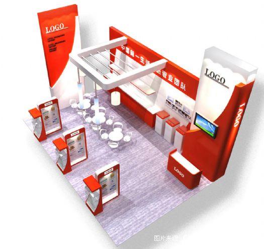 展览展示工程项目组织结构框架图