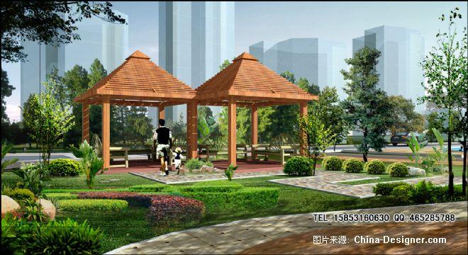园林景观亭子-宗少伟的设计师家园-园林景观亭子