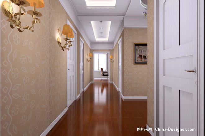 别墅二楼走廊-窦帅的设计师家园-别墅图片