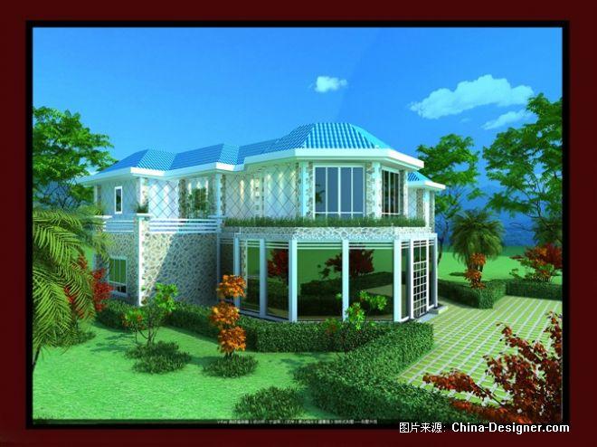 别墅外观-宁益军的设计师家园-温馨