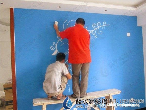 手绘墙图片,壁画,手绘墙