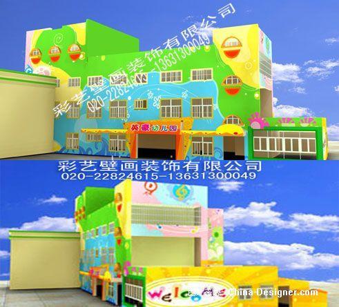 幼儿园彩绘-梁保旺的设计师家园-幼儿园壁画