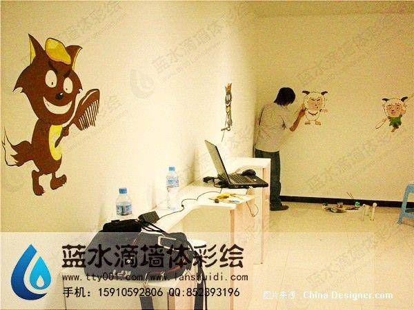 北京华彩艺术手绘墙