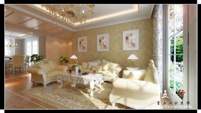 沙发墙-五行室内设计工作室的设计师家园-客厅