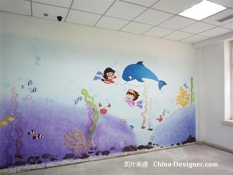 大连镜像手绘墙画设计师家园