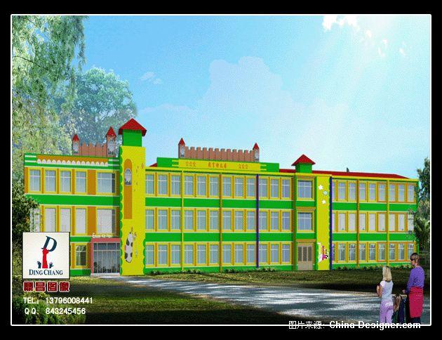幼儿园外立面-鼎昌装饰设计的设计师家园:::哈尔滨图