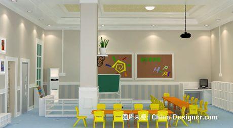 幼儿园效果图-深圳市灵动创意设计工程有限公司的设计师家园-欧式