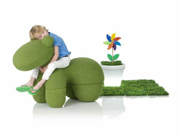 《儿童家具,小马椅po》-设计师:深圳雅帝(香港)家具