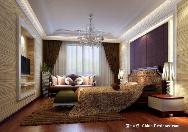 主卧室效果图-熊建的设计师家园-现代
