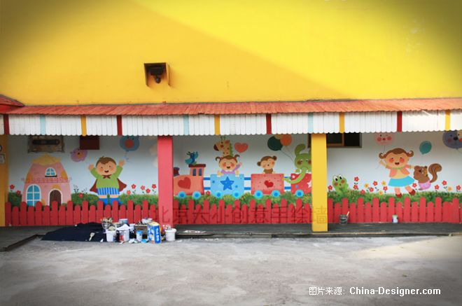2-北京大小创意手绘的设计师家园-北京墙绘