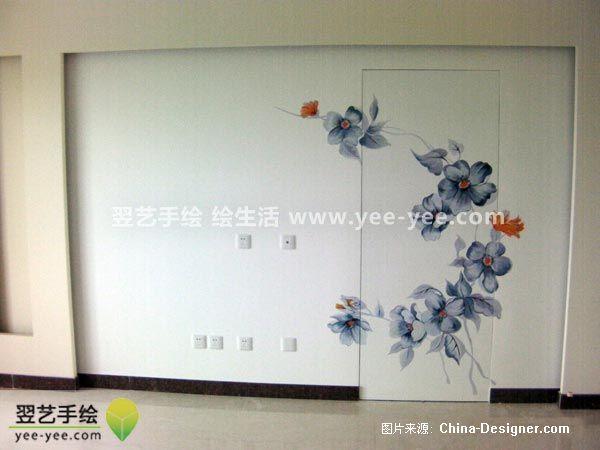 丰台世华水岸简约大气-北京手绘墙的设计师家园:::墙