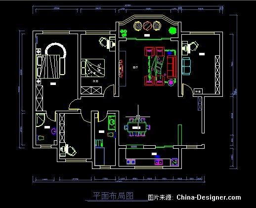 《平面图纸》-设计师:建瓯市闽都建筑装饰设计工程