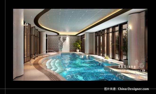 《永康别墅游泳池》-设计师:徐强.设计师家园-徐强的