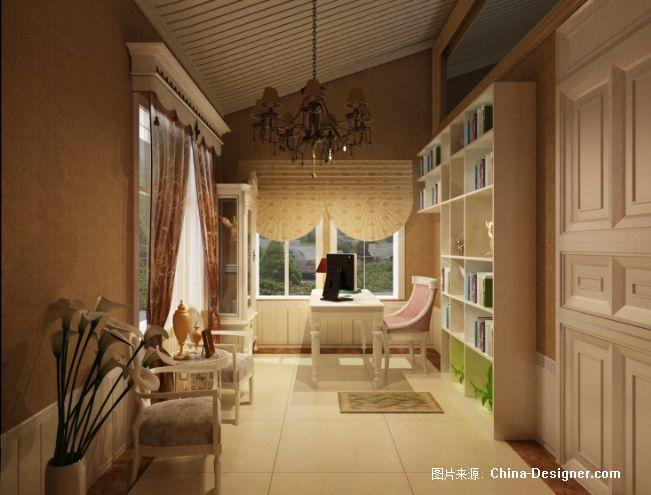 别墅书房-刘鑫的设计师家园-欧式