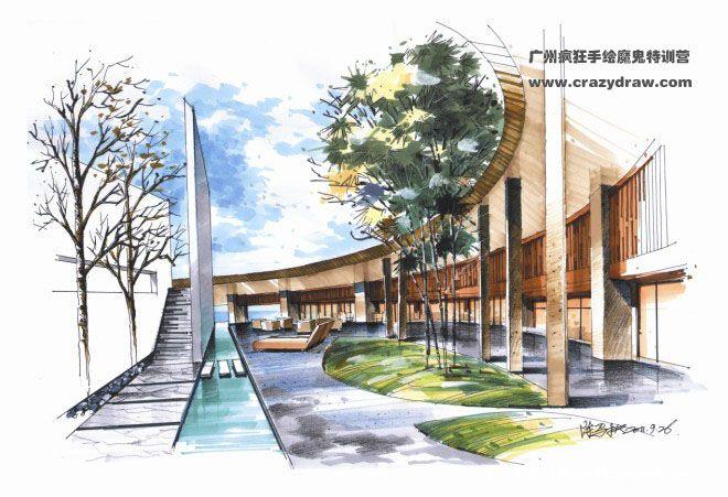 广州手绘培训-疯狂手绘魔鬼特训营的设计师家园