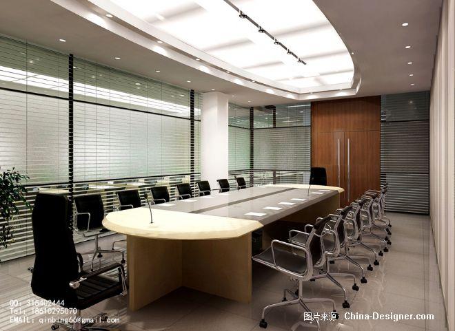 小会议室-华艺爵世空间艺术设计的设计师家园-办公室,现代