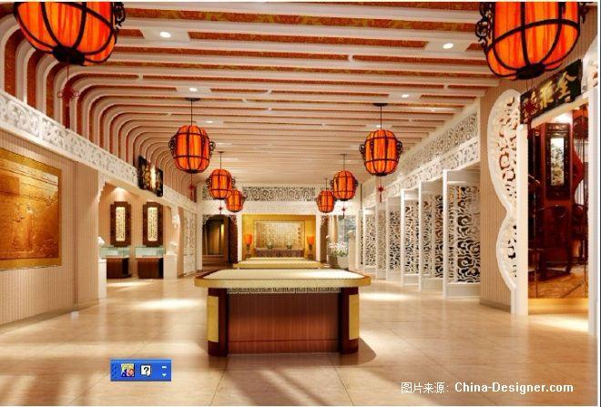 餐厅装修 中式餐厅设计-北京视点创意环境艺术设计有限公司的设计师