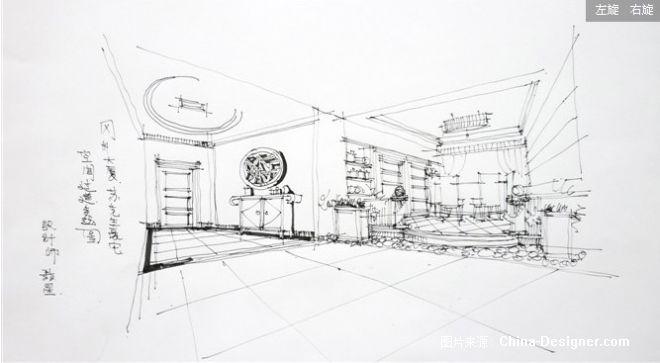 户型 户型图 简笔画 平面图 手绘 线稿 660_363