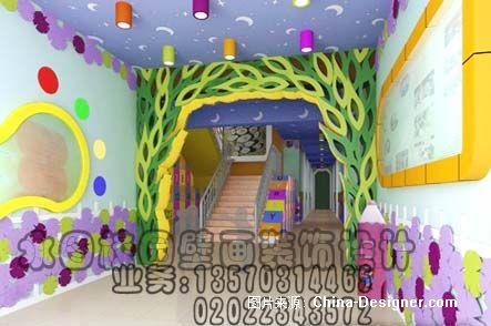 东莞市永图幼儿园外墙壁画装饰设计公司分部的设计师家园