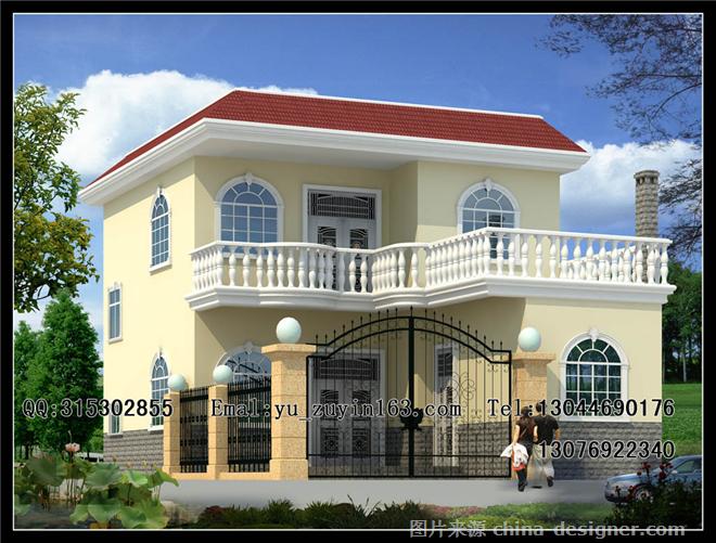 别墅设计 新农村别墅自建房农村住宅设计-余祖银的