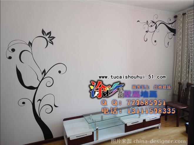 电视背景墙,沙发背景墙,玄关,儿童房,隐形门-石家庄涂彩手绘的设计师