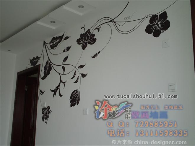 沙发背景墙,电视背景墙,儿童房,玄关,隐形门-石家庄涂彩手绘的设计师