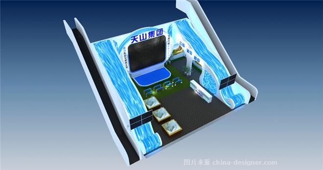 2010石家庄春季房交会---天山集团展位设计预备方案-狄海明的设计师