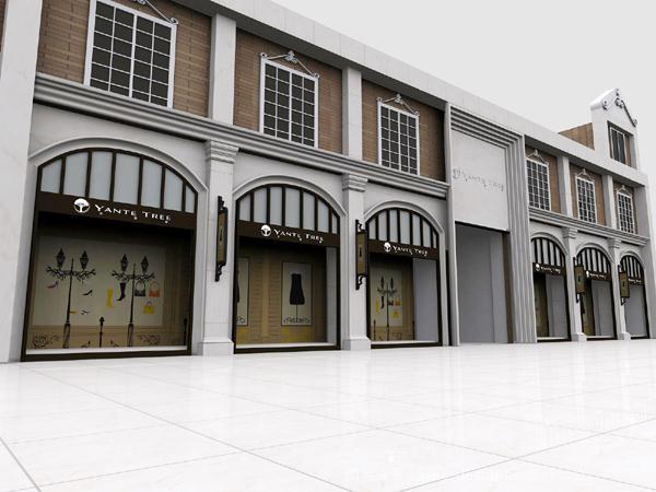 《办公楼外立面欧式装修》-设计师:武汉聚禾商业展示
