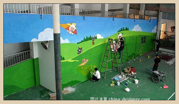 海淀手绘墙画