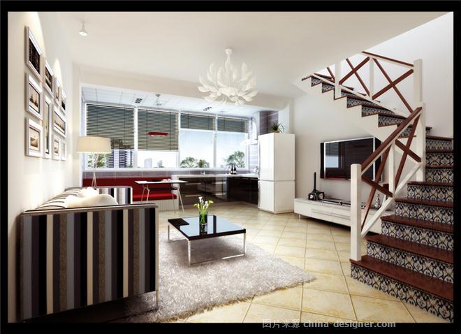 《80后小户型复式楼》-设计师:李薇.设计师家园-my图片