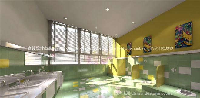 《私人幼儿园装修设计公》-设计师:北京最专业最好的