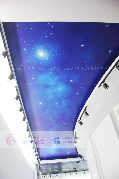 顶面星空彩绘,学校彩绘,学校壁画-苏州手绘墙的设计师家园-477210