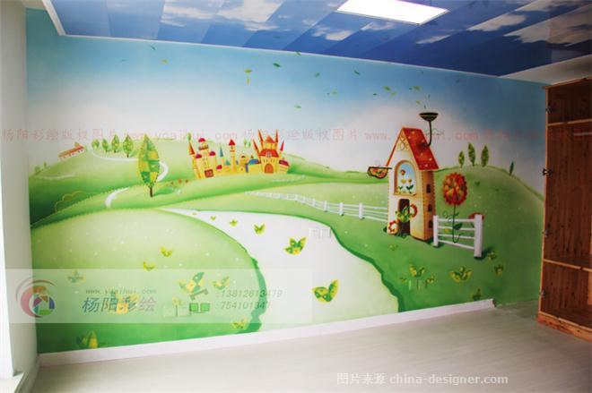 苏州墙体彩绘 苏州手绘墙 苏州壁画 杨阳彩绘艺术设计